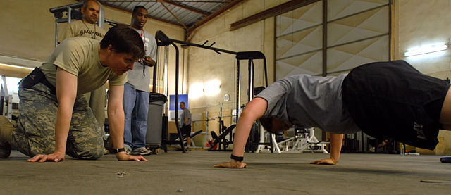 calisthenics push up