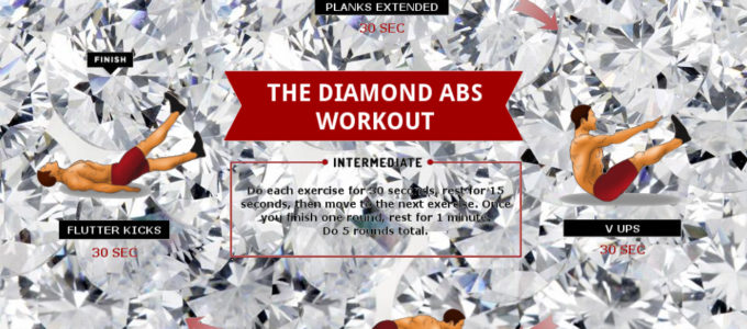 The Diamond Abs Workout