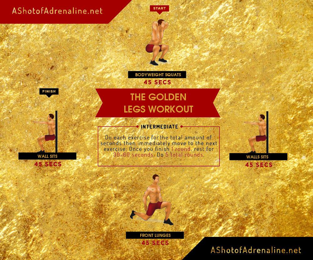 the golden legs workout