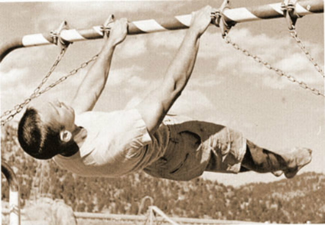 front lever 1