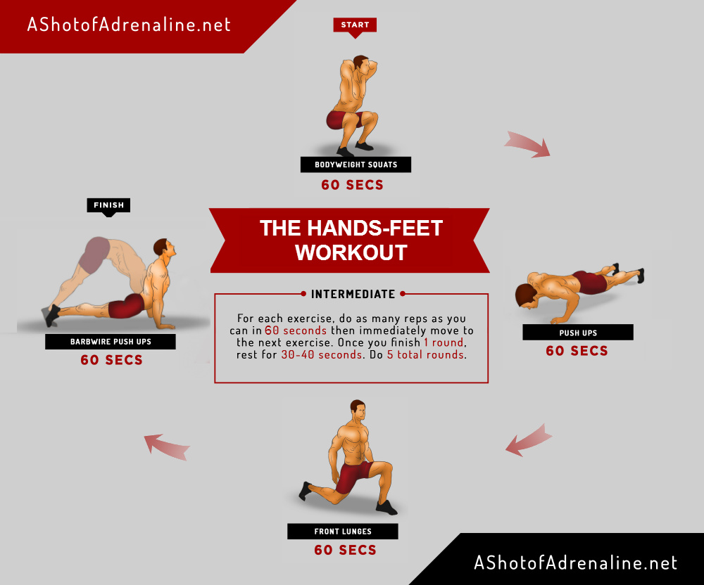 hands-feet workout