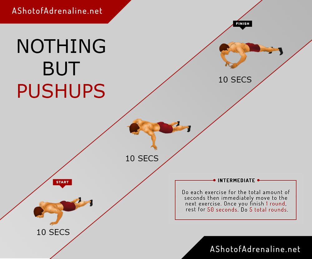 nothing but pushups