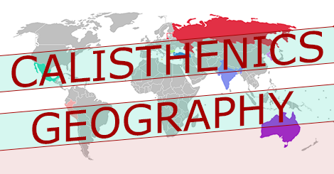 calisthenics geography: The Itinerary Of Gains