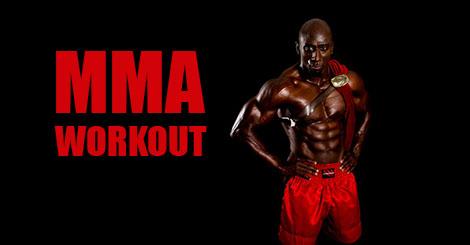 MMA Bar-Style Circuit Training Program