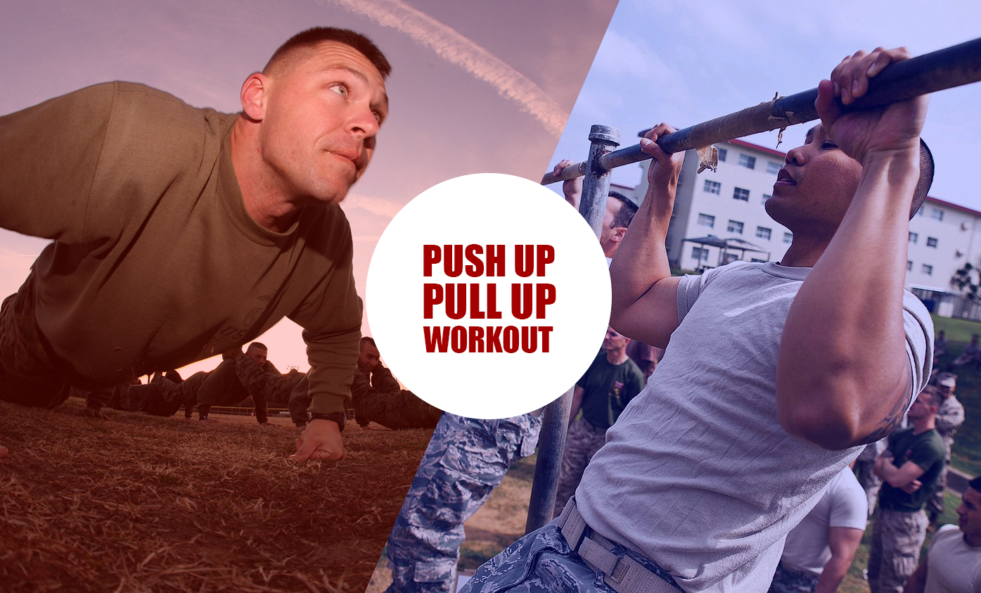 The Push Up / Pull Up Challenge