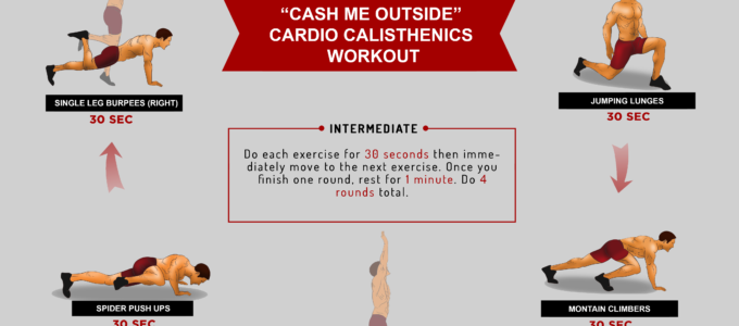 "The ""Cash Me Outside"" Cardio Calisthenics Workout"