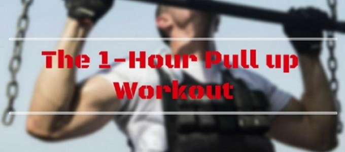 The 1-Hour Pull Up Workout